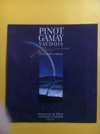 9082 - Pinot Gamay  Le Magicien Ponnaz & Fils Cully Suisse - Art