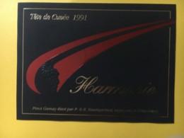 9083 - Pinot Gamay  Harmonie 1991 Baumgartner Grandvaux Suisse - Art