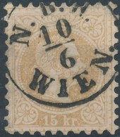 Austria 1867 - ANK 39  15kr - 1850-1918 Imperium