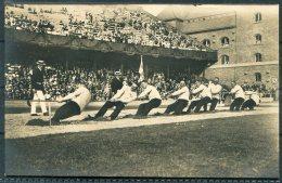 1912 Sweden Stockholm Olympics Official Postcard No 109 Swedish Tug Of War Team - Olympic Games