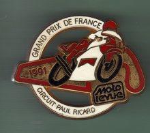 MOTO *** GRAND PRIX DE FRANCE 91 *** MOTO REVUE *** Signe AMC *** 0091 - Motorbikes