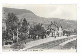 BUSSANG  (cpa 88)  La Gare - Vue Intèrieure   -  L 1 - Bussang