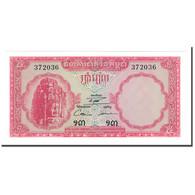 Billet, Cambodge, 5 Riels, 1962-1975, KM:10b, NEUF - Cambodge