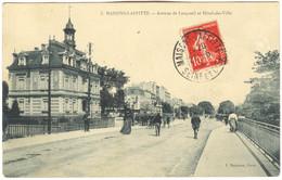 CPA 78 MAISON LAFITTE Av De Longueil 1909 - Maisons-Laffitte