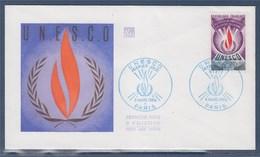 = UNESCO Enveloppe 1er Jour N°42 Paris Le 8 Mars 1969 - UNESCO