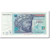 Billet, Tunisie, 10 Dinars, 1994, 1994-11-07, KM:87, TTB - Tunisie
