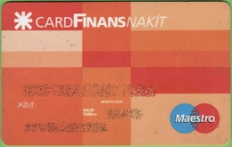 Turkish ATM Card Finansbank - Cartes De Crédit (expiration Min. 10 Ans)