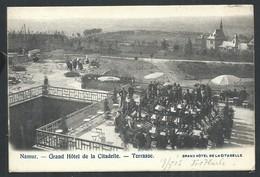+++ CPA - NAMUR - Grand Hôtel De La Citadelle - Terrasse - Orchestre   // - Namur
