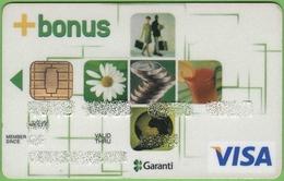 Turkish Visa Card Garanti Bankasi - Cartes De Crédit (expiration Min. 10 Ans)