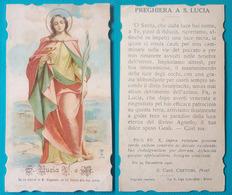 Santino Preghiera A S. Lucia. 1907. - Religione & Esoterismo