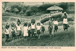 Philipijnen - Het Nationaal Voedsel (rijst) Wordt Ingeoogst / Missien Van Scheut - Philippines