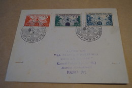 RARE,courrier France Outremer Du 14 Octobre 1945,pour Collection,superbes Timbres Et Oblitérations - Variedades Y Curiosidades