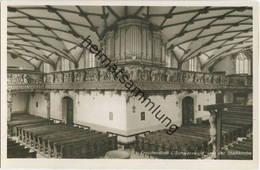Freudenstadt - Ev. Stadtkirche - Orgeleck - Foto-AK - Verlag Schöning & Co Lübeck - Kirchen U. Kathedralen