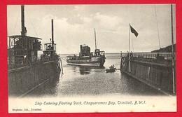 CPA: Trinidad - Ship Entering Floating Dock, Chaguaramas Bay - Trinidad