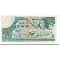 Billet, Cambodge, 1000 Riels, KM:17, SPL+ - Cambodge