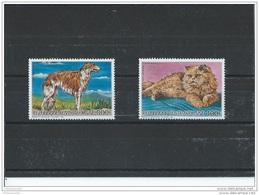 CENTRAFRICAINE 1986 - YT PA N° 348/349 NEUF SANS CHARNIERE ** (MNH) GOMME D'ORIGINE LUXE - Centrafricaine (République)
