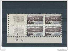 TAAF 1956 - YT N° 5 NEUF SANS CHARNIERE ** (MNH) GOMME D'ORIGINE LUXE COIN DATE - Terres Australes Et Antarctiques Françaises (TAAF)