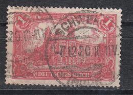 Deutsches Reich -  Mi. 113 (o) - Oblitérés