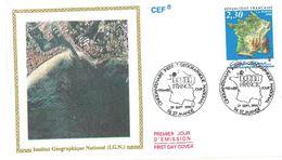 FDC IGN Institut Géographique National (94 St Mandé 29/09/1990) - FDC