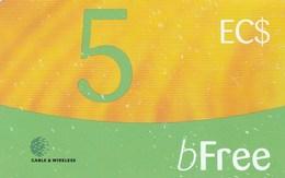 St. Vincent - BFree 5 EC$ - St. Vincent & The Grenadines