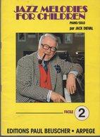 Jack Dieval : Jazz Melodies For Children 2 (CAT 1306) - Jazz