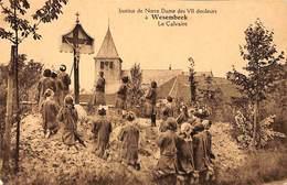 Wesembeek - Institut De Notre Dame Des 7 Douleurs - Le Calvaire (animation, Edition Belge) - Wezembeek-Oppem