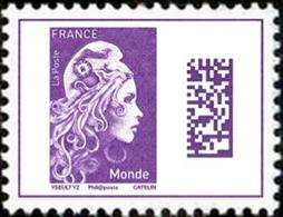 Type Marianne D'YZ. Marianne Datamatrix. - 2018-... Marianne L'Engagée