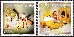 CEPT / Europa 2015 Luxembourg N° 1998 Et 1999 ** Les Jouets Anciens - Europa-CEPT