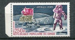 9898  CONGO PA 157 **  250F  Apollo XVI I     1973    TTB - Nuovi