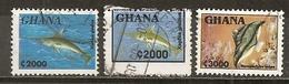 Ghana 1995 Poissons Fish Obl - Ghana (1957-...)