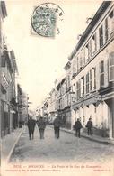 ¤¤  -   SOISSONS   -   La Poste Et La Rue Du Commerce    -   ¤¤ - Soissons