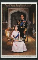 Niue ** Bloc 100 - 60 Ans De La Reine Elizabeth II - Niue
