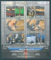 FEROE -  MNH/*** LUXE - 2009 - GEOLOGICAL ORIGIN - Yv  665-670 MINISHEET -  Lot 18317 - Féroé (Iles)