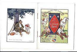 Rare LIVRET De CUISINE, Années 50 - 30 Recettes Illustrées De CORNED BEEF - Gastronomie