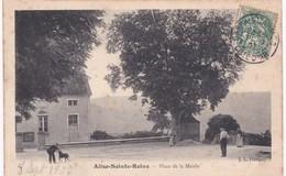 21 Côte D'Or - ALISE-SAINTE-REINE - Place De La Mairie - 1907 - Francia