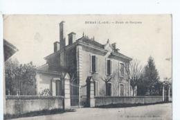 Cpa - 47 -   Duras  - Ecole De Garcons - France