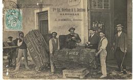 Mézin - L'industrie Bouchonnière. Entrepôt De Léoujé Estranyé. - Autres Communes