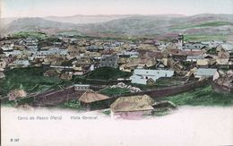 Peru, Cerro De PASCO, Vista General (1899) Postcard - Peru