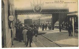 Gare De Mézin - Départ De M. Fallières Pour Allemans-du-Drot - France
