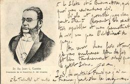 Uruguay, President Juan Lindolfo De Los Reyes Cuestas (1903) Postcard - Uruguay