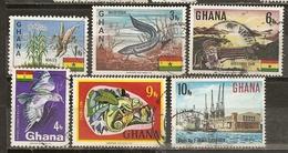 Ghana 1967 Wtih Animals Etc Obl - Ghana (1957-...)