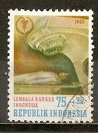Indonesie Indonesia 1983 Fight Against Cancer Obl - Indonésie