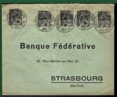 LETTRE DE STRASBOURG - 1931 - - Lettres & Documents