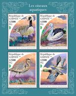 GUINEA 2018 - Pelican, Water Birds. Official Issue - Pelikanen
