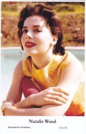 NATALIE WOOD - Film Star Pin Up PHOTO Postcard - Publisher Swiftsure Postcards 2000 - Postales