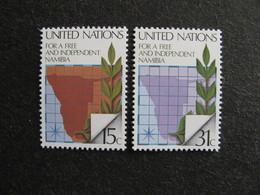 O.N.U. Siège De New-York: TB Paire N° 304 Et N° 305, Neufs XX - New York -  VN Hauptquartier