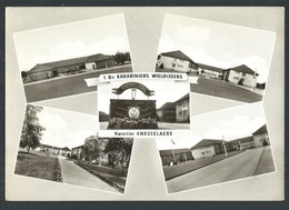 +++ CPA - KNESSELARE - Kwartier KNESSELAERE - 1 Bn Karabiniers Wielrijders - Multivues - CPSM  // - Knesselare