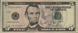 ETATS UNIS 5 DOLLARS DE 2006  L 12 SAN FRANSISCO  PICK 524  UNC/NEUF - Billets De La Federal Reserve (1928-...)