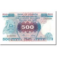 Billet, Uganda, 500 Shillings, 1986, KM:25, NEUF - Ouganda