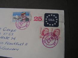 USA 1981 Cv.Belmont Ca. - Ganzsachen